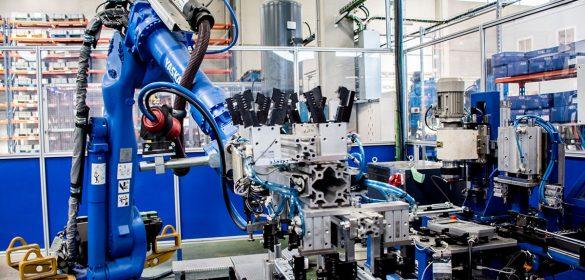 Instalación soldadura robotizada
